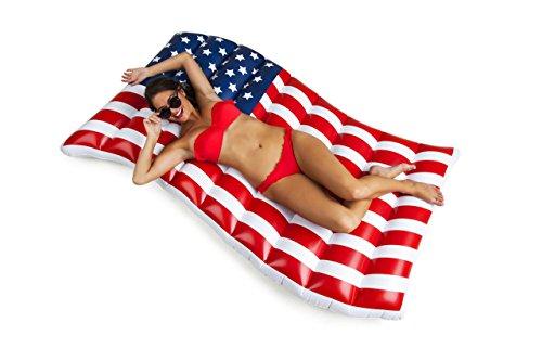 BigMouth Inc. – Gonfiabile Bandiera Americana Giganti | Galleggiante Piscine Spiaggia