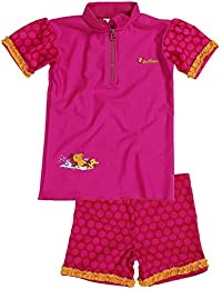 Playshoes Girl's UV Sun Protection 2 Piece Swim Set Mouse Swimsuit