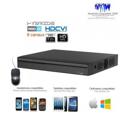 Digital-multiplex-recorder (DVR Dahua-RECORDER HDCVI Full 1080P für 8Überwachungskameras-dvr-5108-516)