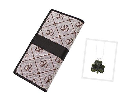 Connemara Halskette und Brieftasche mit irischem Marmor -