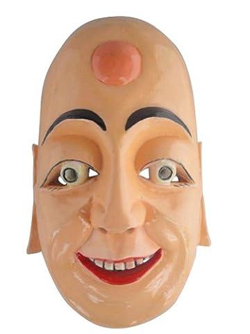 Chinese Home Wall Decor Ritual Dance Mask 100% Wood Craft Folk Art #112 Pro Level - FREE SHIPPING