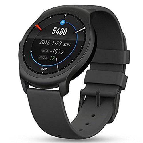 Ticwatch 2 Smartwatch - Snow Fitness Heart Rate Bluetooth 4.1 for iPhone iOS and Android Phone