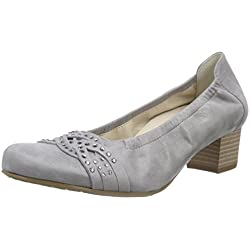Semler Cleo, Damen Pumps, Grau (015 - perle), 38 2/3 EU (5.5 Damen UK)