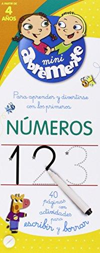Números. 40 Páginas Con Actividades Para Escribir Y Borrar