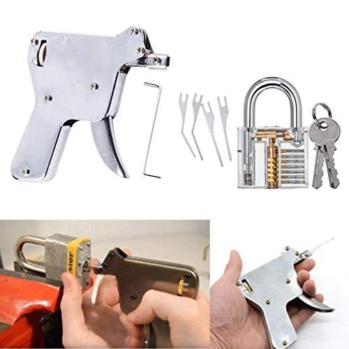 Gaddrt Strong Lock Pick Vorhängeschloss Repair Tools Kit Türöffner Schlagschlüssel Schlosser Verschraubung fixieren -