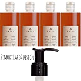 Prija Flüssigseife Ginseng Seife Wellness Spa 4x 380ml Flakon 2x Pumpspender Soap