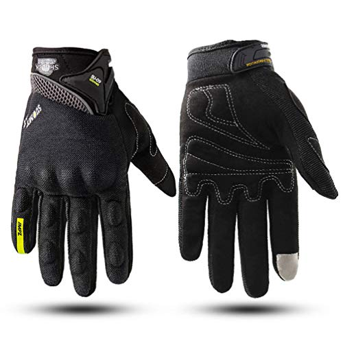Touch Screen Moto Guanti Moto Uomo Donna Antivento Anti-Fall Moto Racing Guanto Da Ciclismo Motocross Handwear XXL