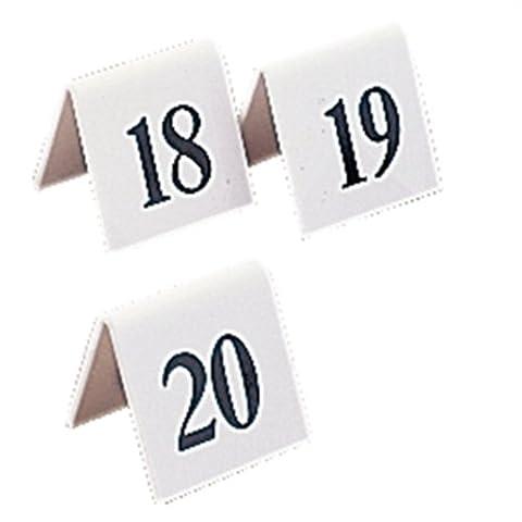 numéros de table 31–40Mariage Pubs clubs de restaurant Cafe Bar