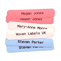 Printed iron-on School Name Tapes Name Tags Labels for Children