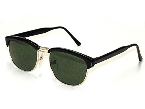 Tedd Haze Classic Clubmaster Wayfarer Brillen schwarz