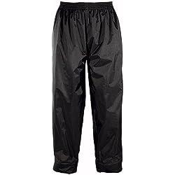 Bering Pantalon moto alon ECO, Noir, Taille XL