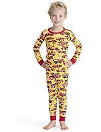 adb077c4e0 Hatley Organic Cotton Long Sleeve Printed Pyjama Set