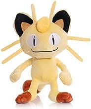 Pokemon Peluche 35 Cm, Carino Meowth Peluche Bambole Di Pezza Team Rocket Meowth Bambola Bambini Regalo Per Ba