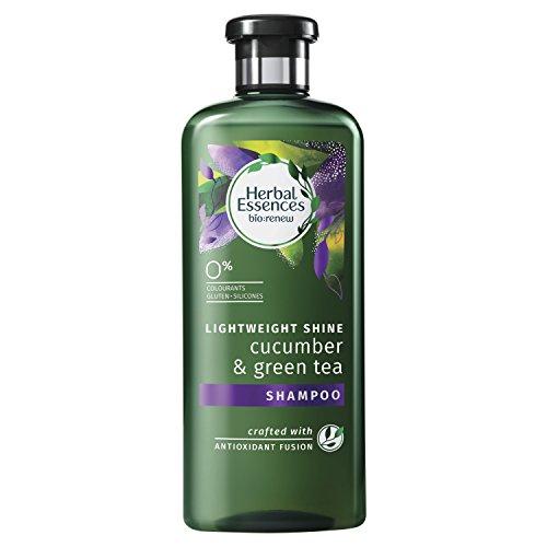 Herbal Essences Cucumber and Green Tea Shine Shampoo, 400 ml