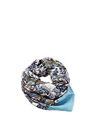 Esprit Accessoires 087ea1q008, Echarpe Femme, Bleu (Blue 430), Taille