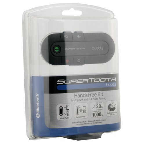 SuperTooth Buddy Freisprecheinrichtung Bluetooth Visier Car-Kit -