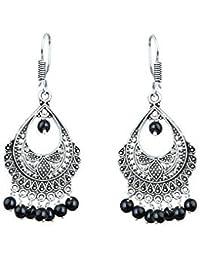 b7b122d60a9be Black Women's Earrings: Buy Black Women's Earrings online at best ...