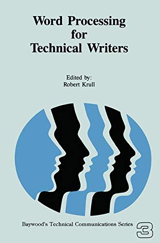 Word Processing for Technical Writers (Ich Desktop-computer)