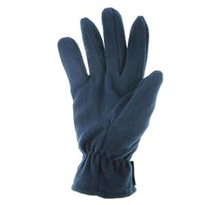 Highlander Granum Micro Fleece Glove - Navy, X-Large