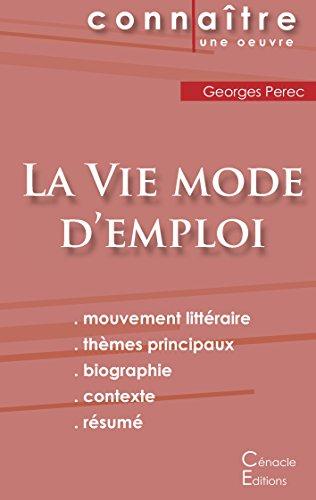 Fiche de Lecture La Vie Mode d'Emploi de Georges Perec (Analyse Littéraire de Référence)