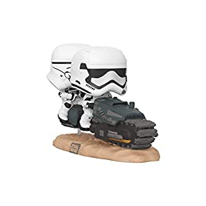 Funko- Pop Movie Moment: Star Wars The Rise of Skywalker-First Order Tread Speeder Disney Figura Coleccionable, Multicolor, única (39915)