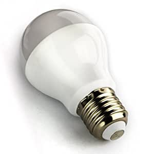 Mi-Light expansion bulb: E27 LED 6W 1.6 million colour Warm White bulb for Mi-Light Dimmable Wi-Fi, RF Remote Control, Android and iPhone System