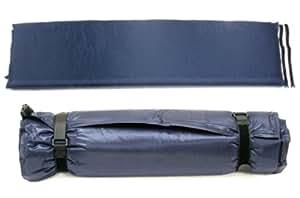 kronenburg isomatte selbstaufblasend 200x66x10 cm in blau. Black Bedroom Furniture Sets. Home Design Ideas