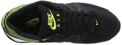 Nike Wmns Air Max Command Scarpe sportive, Donna Black/Black-Volt