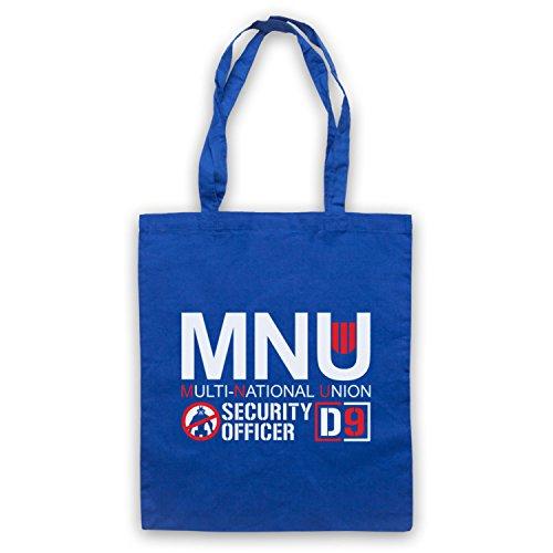 Ispirato Al Distretto 9 Multisale Non Ufficiale Delle Tasche Blu Del Capo