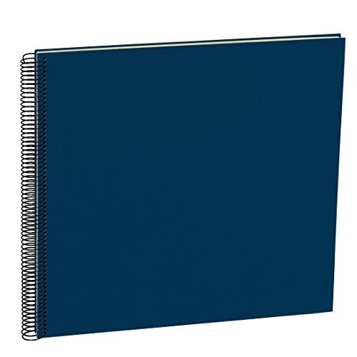Semikolon (352929) Spiral Album Large marine (blau) | Spiral-Fotoalbum mit 50 Seiten u....