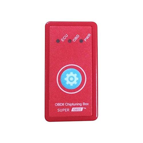 Preisvergleich Produktbild OBD2 mit Reset-Taste für Diesel-Autos Performance-Chips Tuning Box Plug & Drive (Farbe: rot)