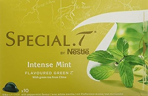 SPECIAL.T by Nestlé Thé Vert Parfumé à la menthe 10