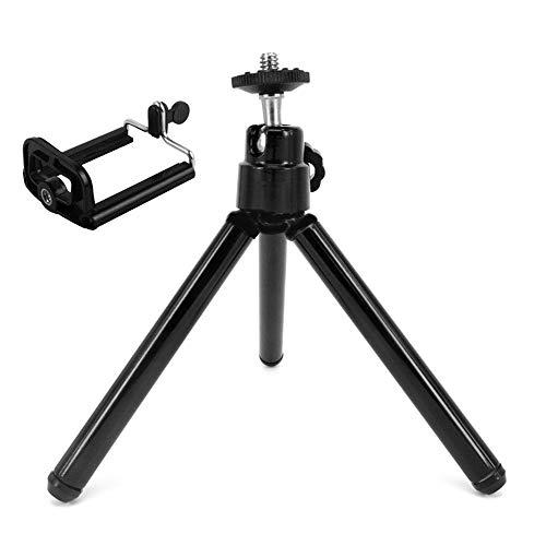 Mini Treppiede Regolabile Per Webcam Con Fotocamera Iphone Con Accessori Per Fotocamera Sportiva Con Clip Per Smartphone Universale