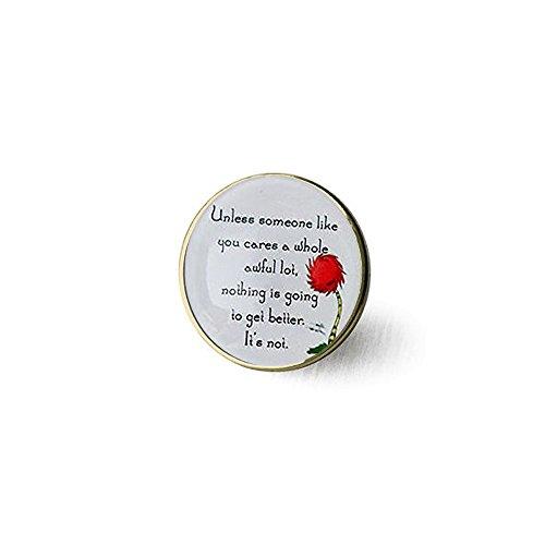 Lorax Truffula Baum 'sofern nicht' Zitat Brosche, Silber oder Bronze Brosche, Silber oder Bronze Brosche Einzigartige Brosche Individuelle Geschenk Everyday Geschenk Brosche