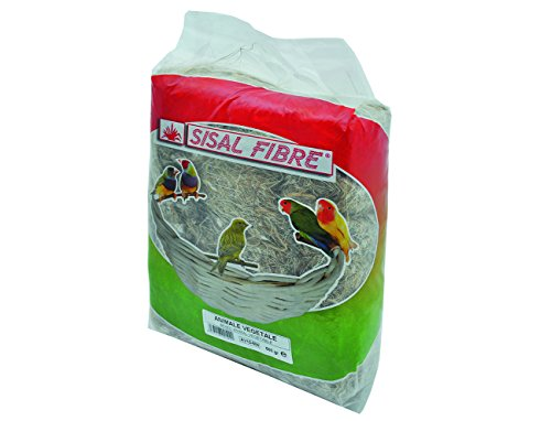 Sisal fibra fondo de jaula Animale/vegetal para pájaro 500G