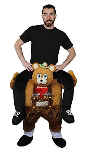 Bär Kostüm Ted - ILOVEFANCYDRESS Trage Mich-Hebe Mich HOCH KOSTÜM Verkleidung = Fasching Karneval= Alle KOSTÜME Sind Unterteile =MIT + OHNE Kleinem ZUBEHÖR Das Dieses KOSTÜM VON Anderen HERVOR Hebt=Bayrische BÄR
