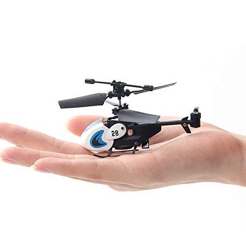 Ycco Mini 3 CH leicht zu erlernen Guter Bedienung RC Quadcopter Hubschrauber-Radio Infrarot-Fernbedienung Flugzeug Segelflugzeug Motor Hohe Hartnäckigkeitpropeller, Anti-Interferenz-Blitzen-Licht-Spie