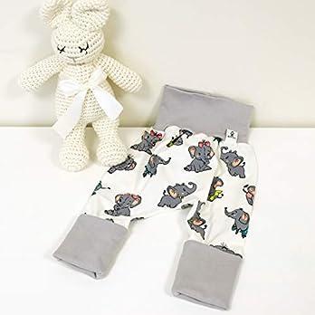 Hose Babyelefant -Hellgrau Baby Mädchen