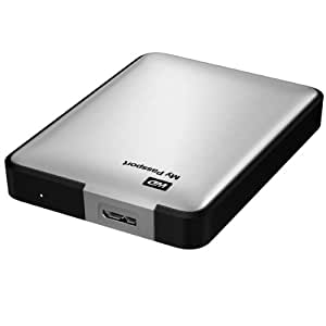 WD My Passport 1TB Portable Hard Drive - Silver
