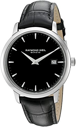 raymond-weil-mens-38mm-black-leather-band-steel-case-anti-reflective-sapphire-quartz-watch-5488-stc-