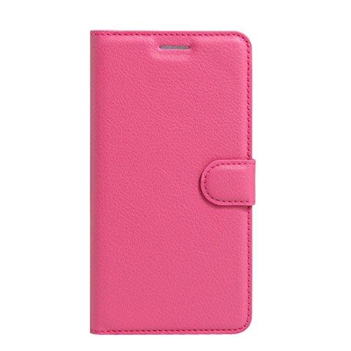 """iPhone 8 Hülle, HualuBro [Standfunktion] [All Around Schutz] Premium PU Leder Wallet Tasche Schutzhülle Case Flip Cover mit Karten Slot für Apple iPhone 8 5.1"""" Smartphone (Schwarz) Rose"""