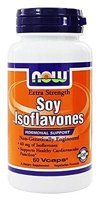 NOW Foods - Soy Isoflavones 150 mg. - 60 Vegetarian Capsules