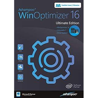 WinOptimizer 16 Ultimate Tuning Software 3 USER Lizenz für Windows 10 / 8.1 / 8 / 7