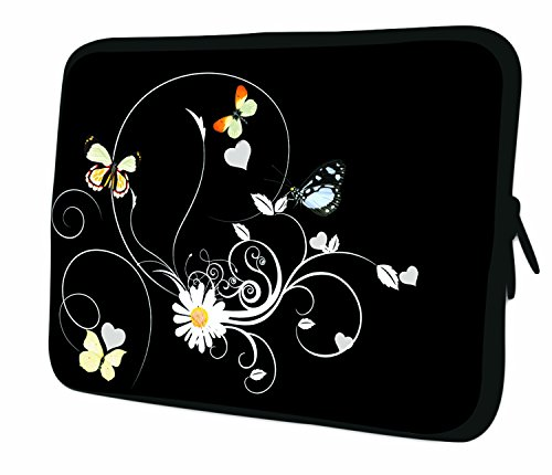 7.9Design ipad Mini/iPad Mini 2/iPad Mini 3Custodia morbida Borsa Pelle. Vestibilità perfetta. Diversi modelli disponibili. (parte 1di 3) White & Yellow Flowers