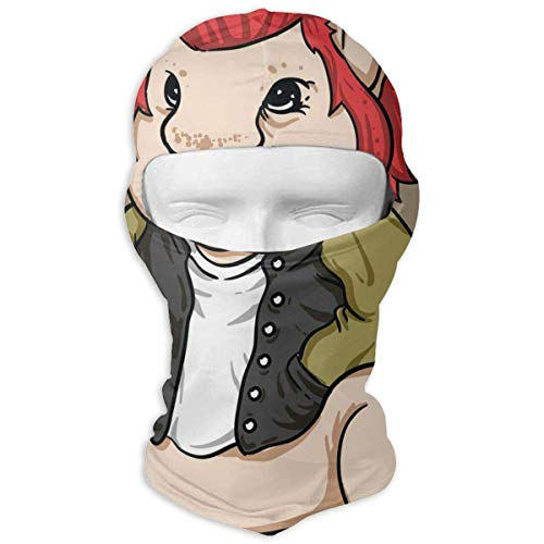 Balaclava Stylish Rodent Wearing A Jacket Hot Full Face Masks UV Protection Skiing for Youth Tuff-dome