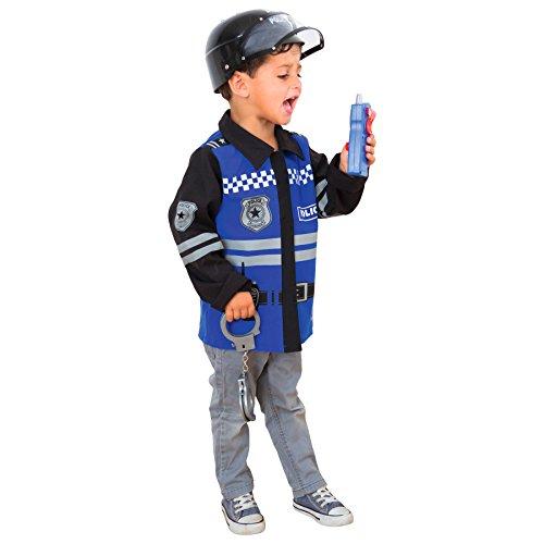 Imagen de imaginarium  disfraz de policía para niños, policeman suit 84348