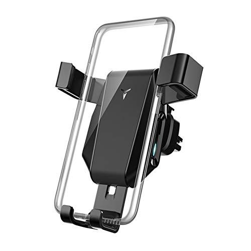 Ur HQCC Automatische Klemmung Wireless Car Charger Mount, Air Vent Handyhalter mit Schwerkraftsensor 10W Schnellladung für iPhone XS Max XR 8, Samsung S10 S9 S8 Huawei etc - Universal Gps-home Charger
