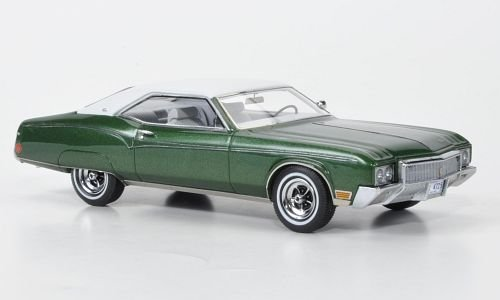 buick-riviera-met-grun-weiss-1970-modellauto-fertigmodell-neo-143