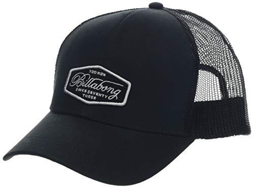 BILLABONG Herren Walled Trucker Schirmmütze, Black/White, One Size -