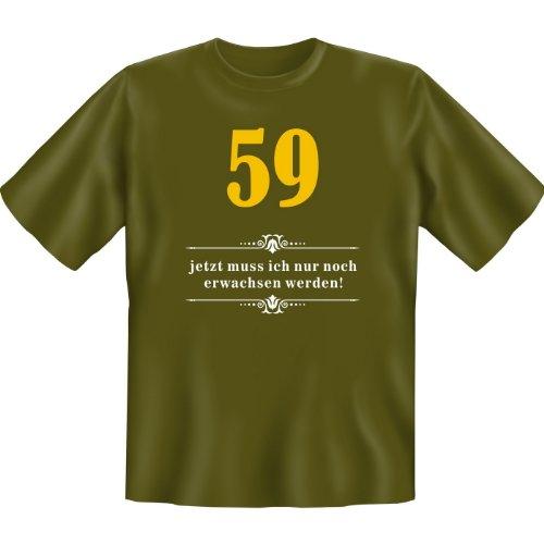 59 - jetzt muss ich nur noch erwachsen werden! Farbe: khaki Khaki